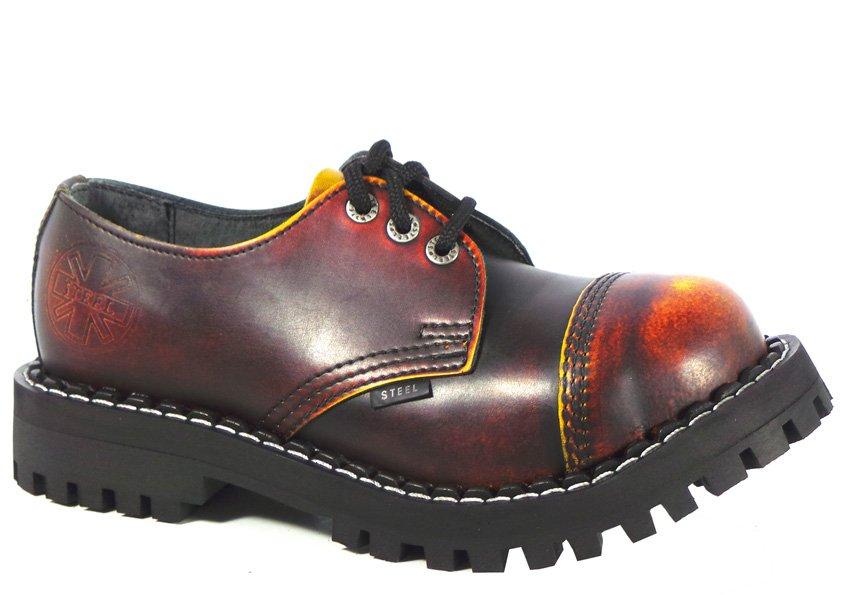 3 dírkové boty STEEL Yellow Red Black   Hilby.cz - Boty MERRELL ... 67f2b110ba