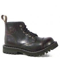 6 dírkové boty STEEL Bordó 800901d434