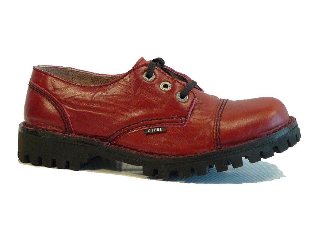 3 dírkové boty STEEL Full Red bez oceli   Hilby.cz - Boty MERRELL ... e18b44ca35