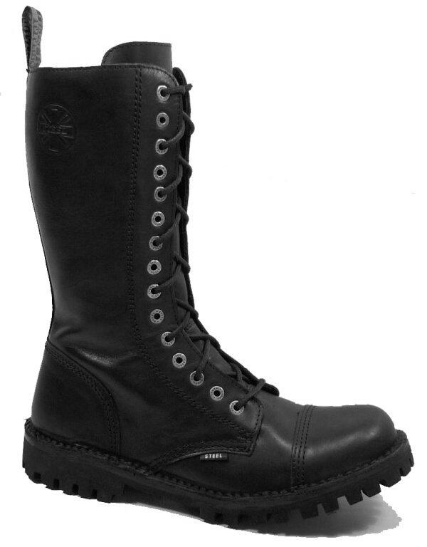 15 dírkové boty STEEL 322-124 Black bez oceli   Hilby.cz - Boty ... 6acb478977