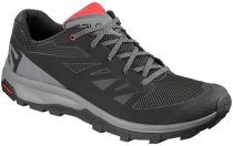 SALOMON OUTLINE L40477500 black/quiet shade/high risk red