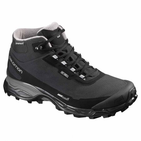 SALOMON L39072800 SHELTER SPIKES CS WP BLACK/BLACK/PEWTER
