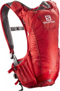Batoh SALOMON 38003400 Agile 7 Bright Red/White